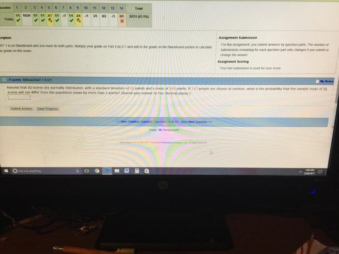 how to find round portion standard yeild test