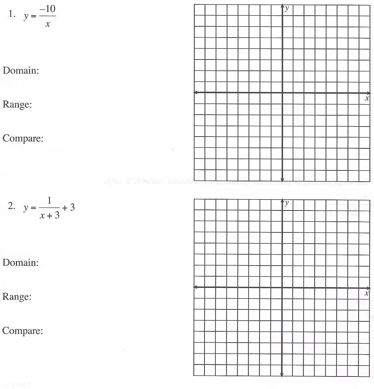 Worksheet Domain And Range Worksheets Grass Fedjp Worksheet Study Site