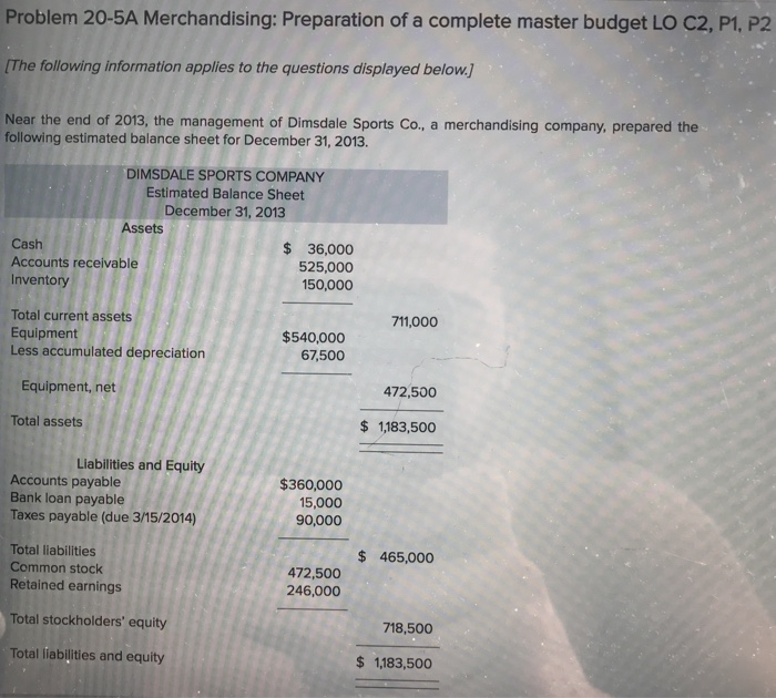 master budget preparation Which of the following is not a factor that causes some businesses to become profit rich, yet cash poor a), rapid sales growth b), an unusually long operating cycle c), slow inventory turnover d), fast accounts receivable turnover 2 which of the following steps in the preparation of a master budget would logically be.