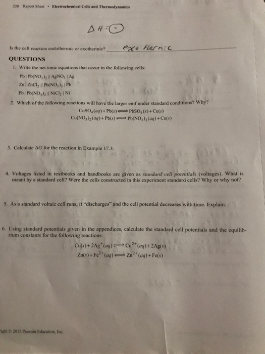 """thermodynamics lab report The ideal or thermodynamic solubility product expression is written in terms of the """"activities"""" or  (to be determined by the lab instructor) of buret stations ."""