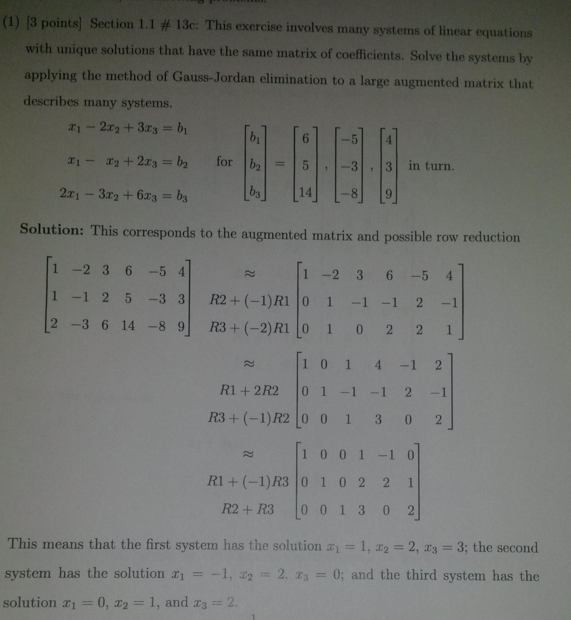 Elimination homework help