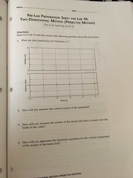 Newton's Second Law Lab Answers