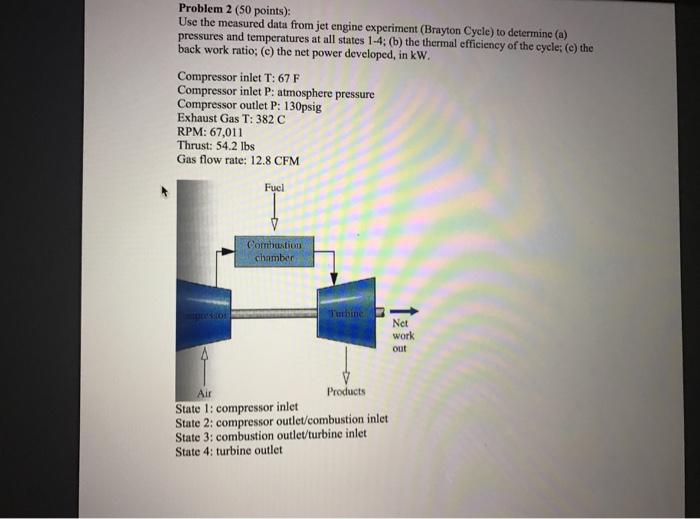 Brayton cycle lab report