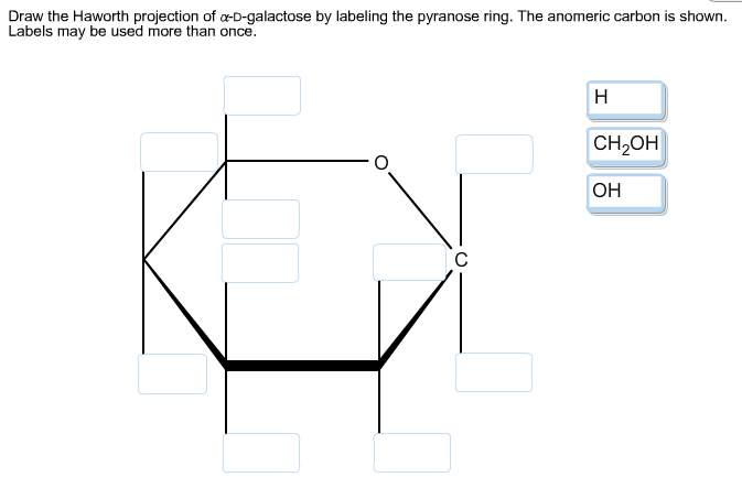 how to draw haworth projections