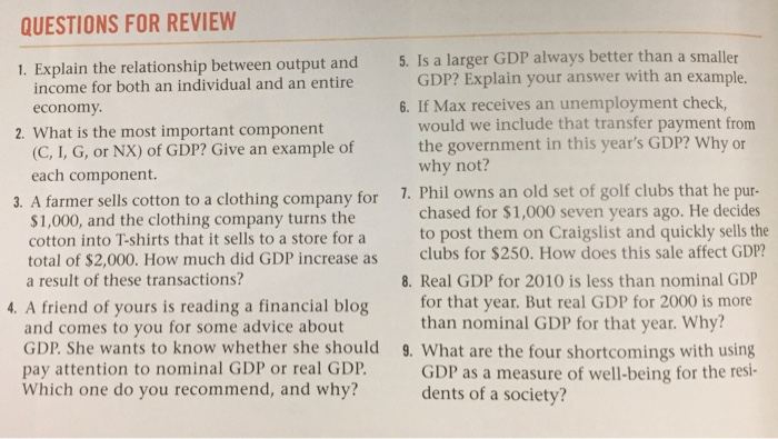 what is the relationship between gdp and economy