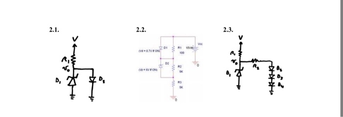 problem 2  diodes and zener diodes in dccircuits i