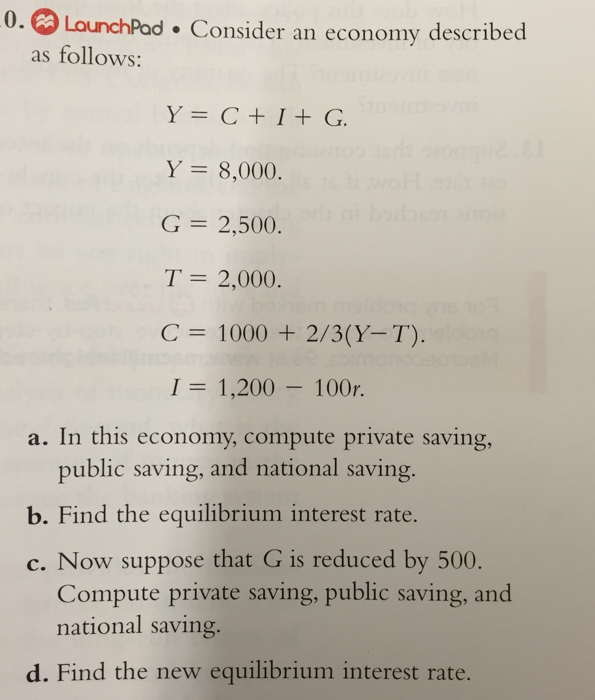 Macroeconomics question?