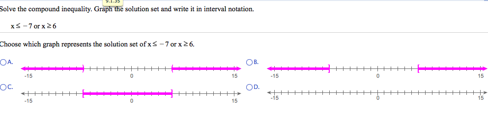 Solving and Graphing Inequalities Worksheets