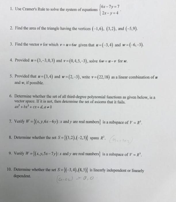 Algebra Archive | April 03, 2017 | Chegg.com