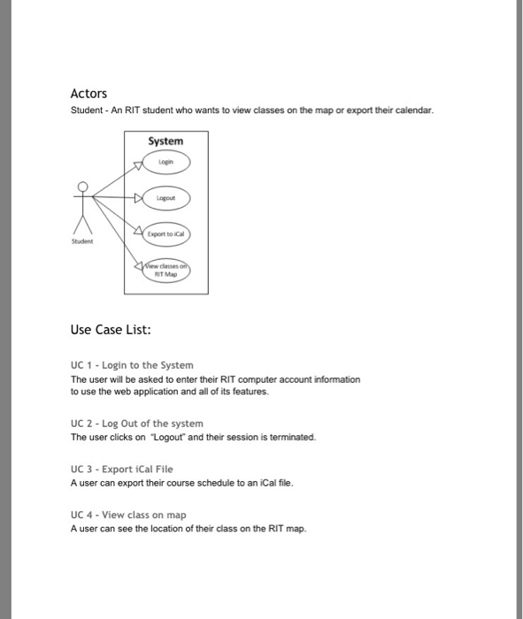 use case diagram for student information system choice