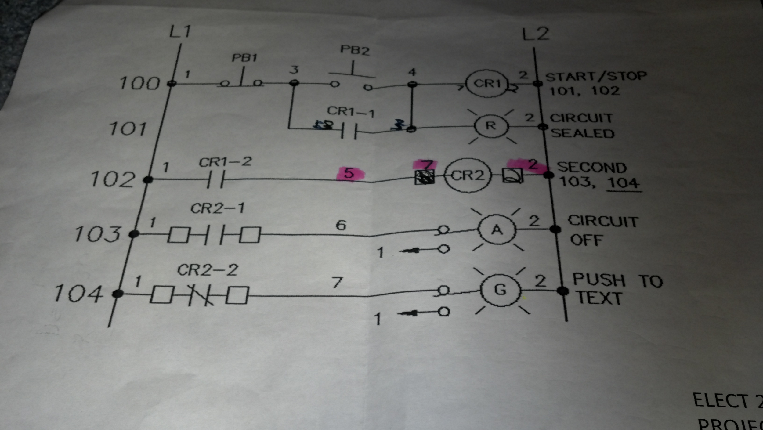 Ladder Wiring Diagram Examples Will Be A Thing Logic Example How Do You Wire This Picture 1 Chegg Com Electrical Sample
