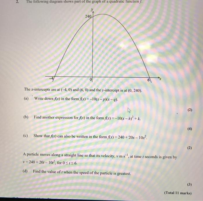 Algebra 2 Math Skills Practice