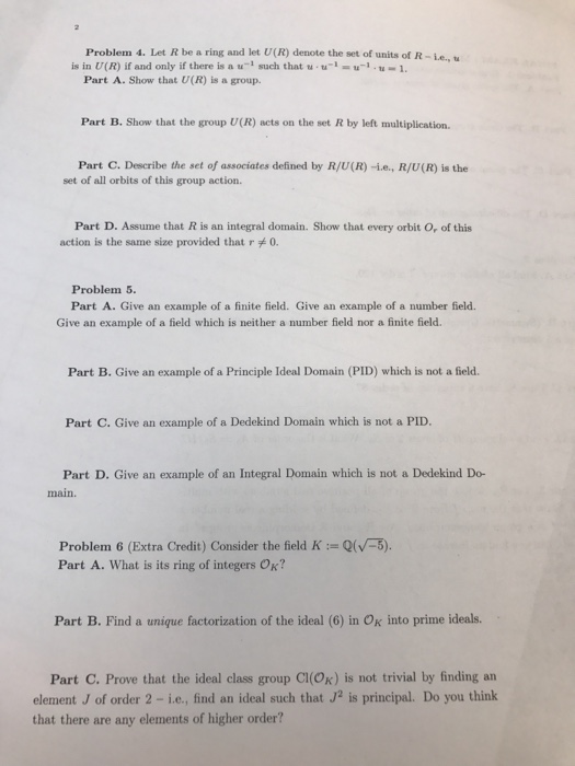What Are The Units Of The Ring Integers