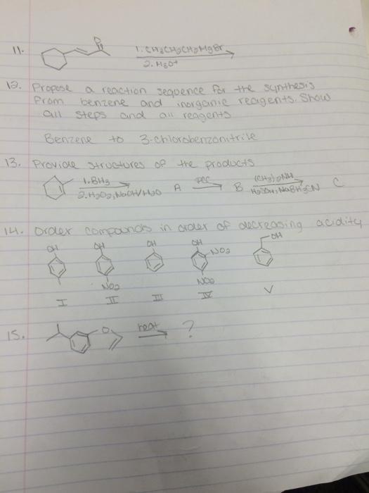 Chemistry problem please help!?