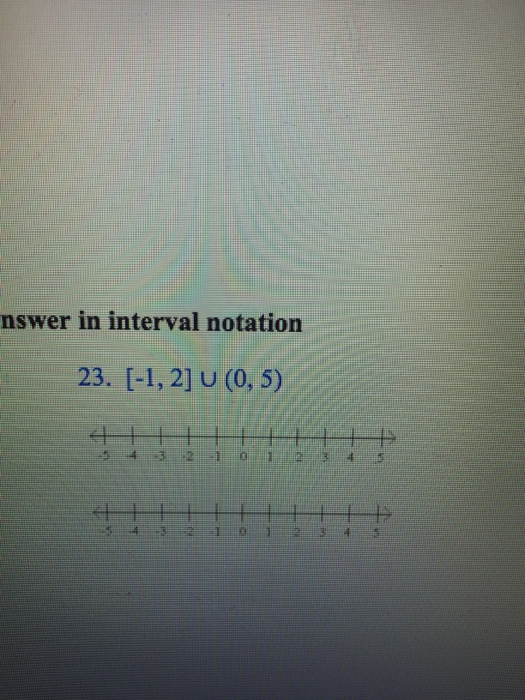 Interval Notation Calculator