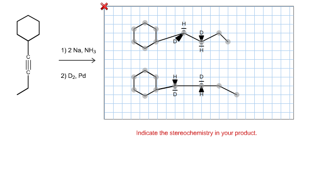 Predict The Product S Of Treating The Given Alkyne