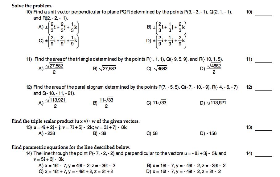 Parallel unit vector   Physics Forums