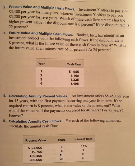 Present Value (PV) Calculation For Future Cash Flow