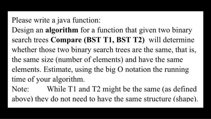 write a function to decide weather two binary trees are similar