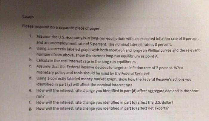 The political economy of the federal reserve essay