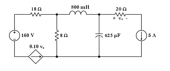 given   the circuit shown aboveis in equilibrium