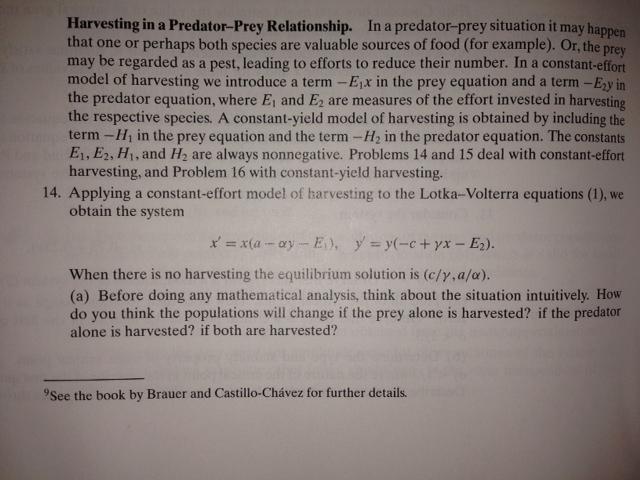 predator prey relationship calculus jokes