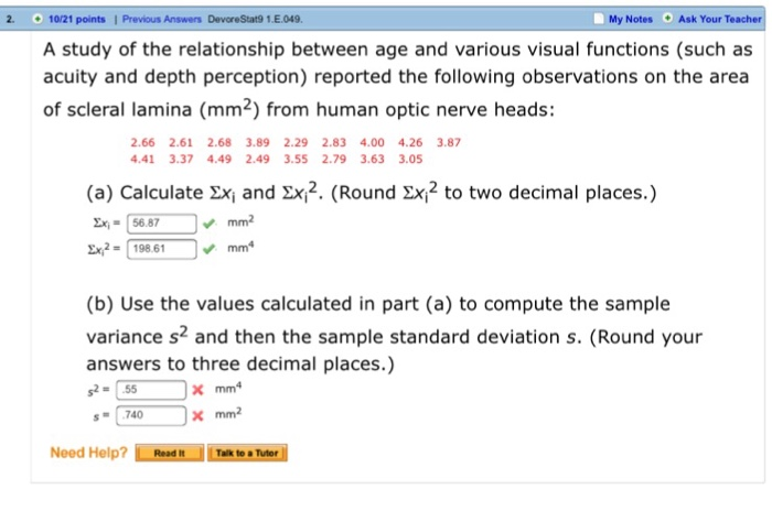 rounding rules for standard deviation and variance relationship