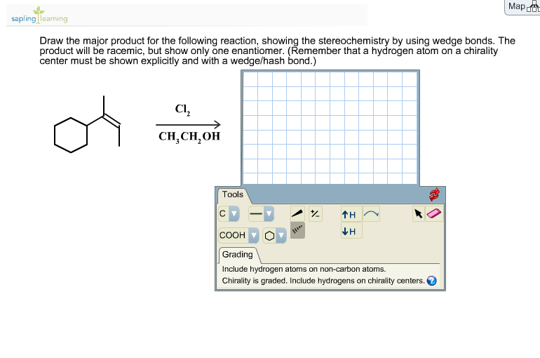 Draw The Major Product For The Following Reaction