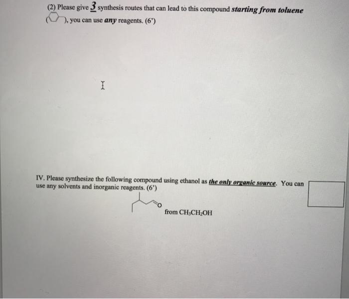 Amino acid synthesis