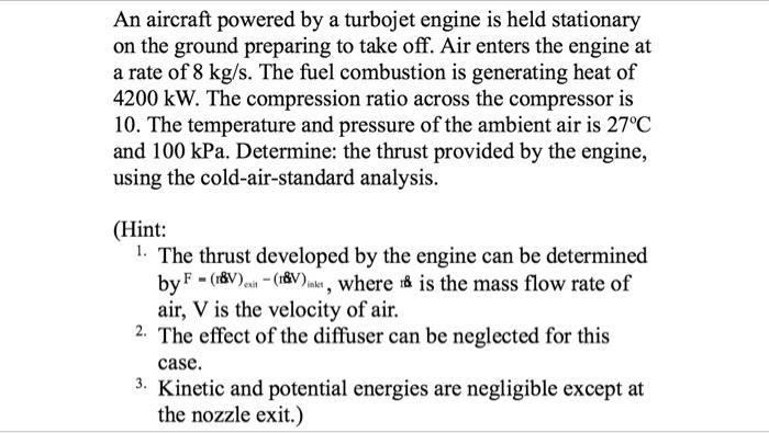 Aerospace engineering homework help