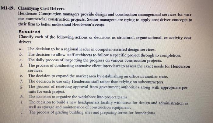 solved henderson construction managers provide design and. Black Bedroom Furniture Sets. Home Design Ideas