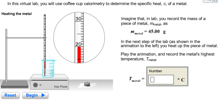 In this virtual lab, you will use coffee cup calorimetry todetermine ...