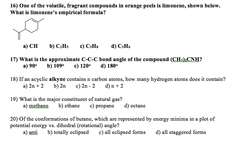 The Structure Of Vitamin C Is Shown Below. Which ...