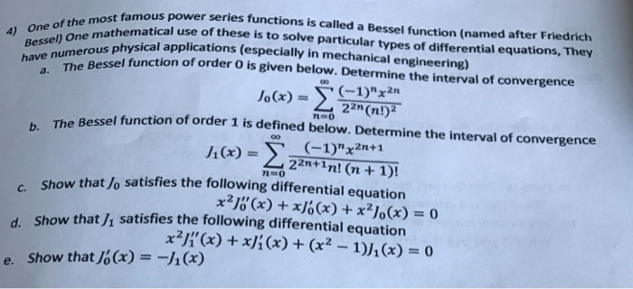 how to solve power series