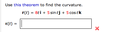 how to find center of curvature