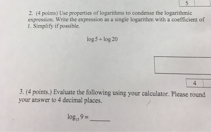 rewrite as a single logarithm and simplify calculator