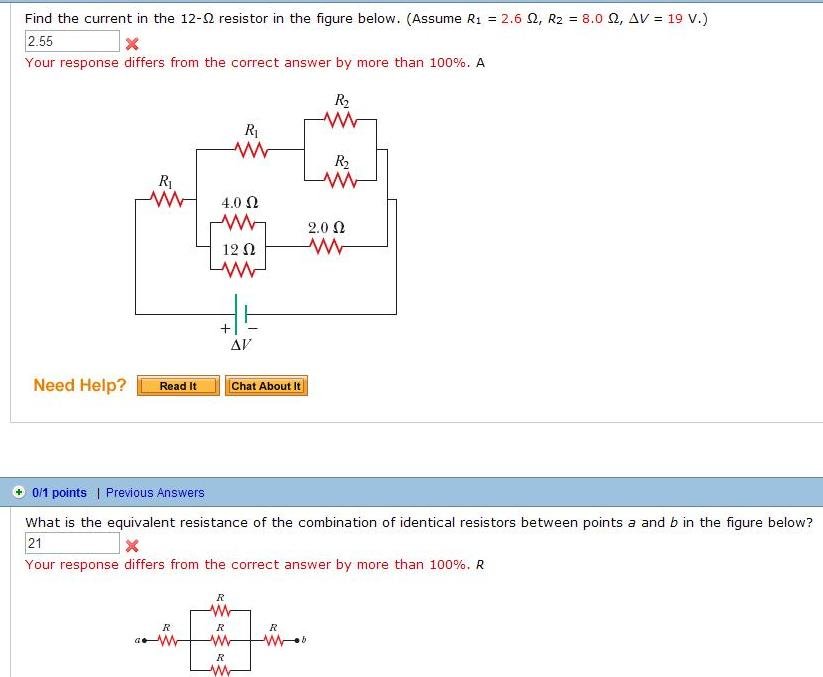 find the current in the 12 ohm resistor in the chegg com student solutions manual college physics 4th edition Linear Algebra