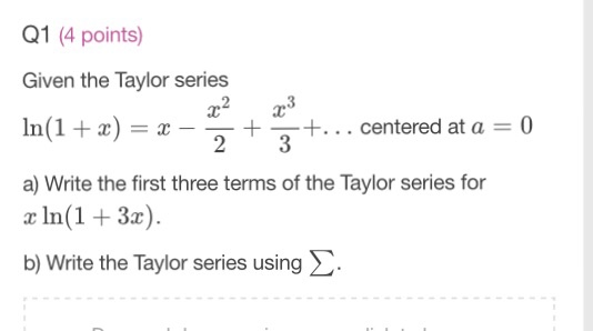 An Easy Way to Remember the Taylor Series Expansion