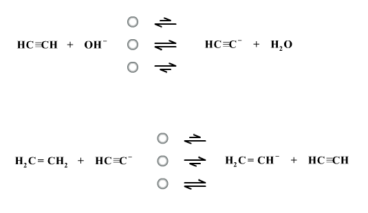 Two Acid Base Reactions Are Given Below Of The