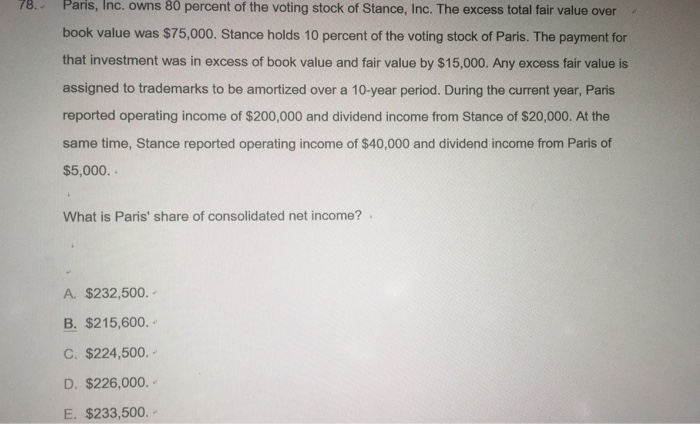 solved this is an advanced financial accounting question. Black Bedroom Furniture Sets. Home Design Ideas