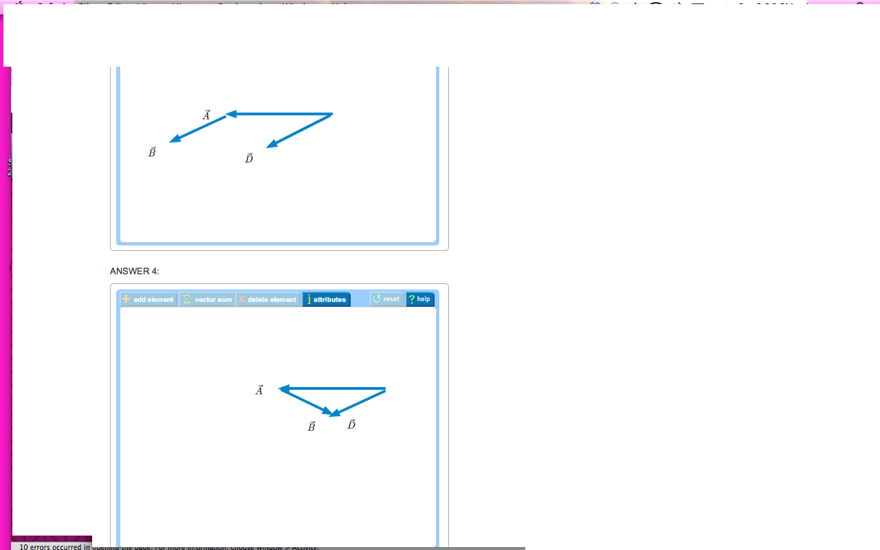 Vector Addition & Subtraction