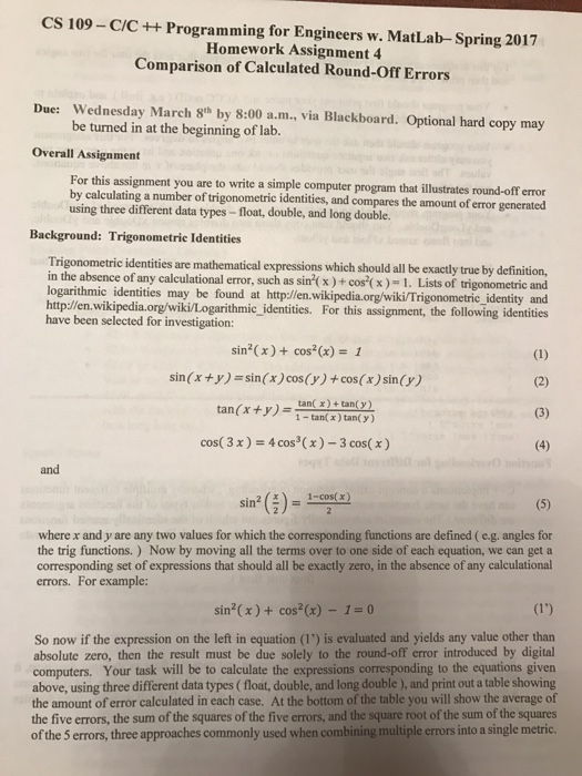 Cs 450 homework 2 question 1