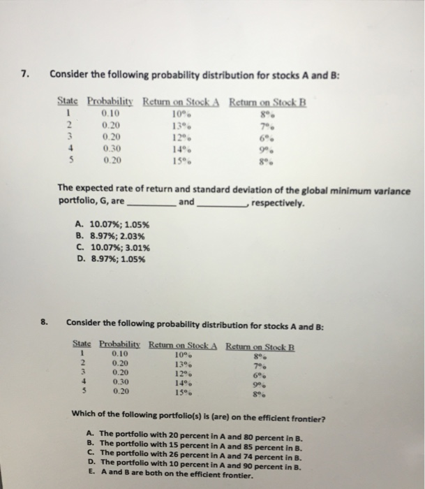 Need help with homework questions