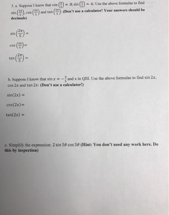 MHF4U Grade 12 Advanced Functions – Exam