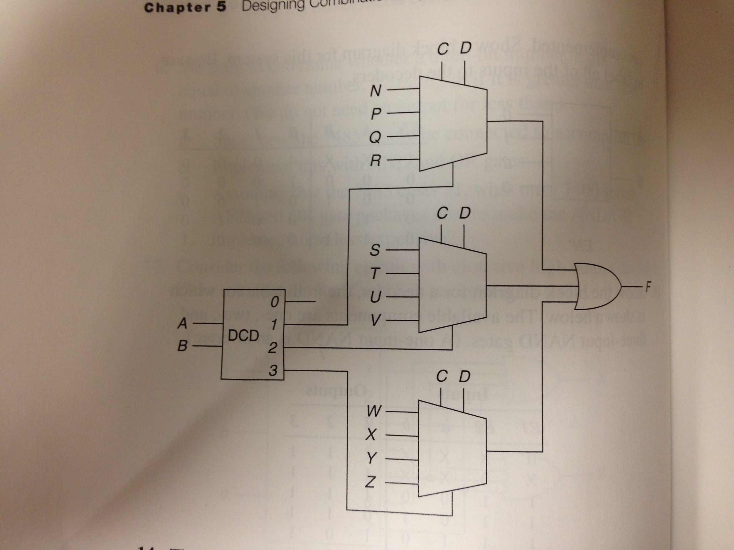 1 design a circuit to multiply two 2 bit numbers for Circuit multiplexeur