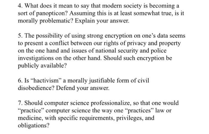 Encryption privacy versus national security essay