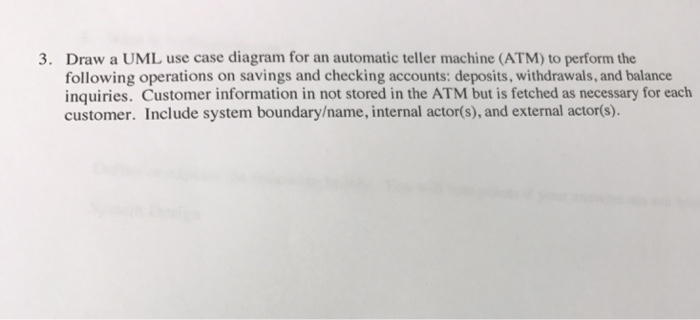 write a test case for atm machine