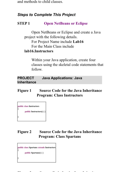 Java code to implement MULTIPATH INHERITANCE