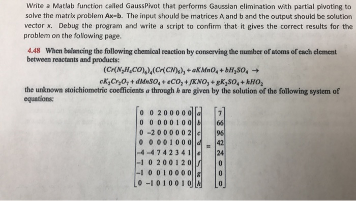SOLUTION: How do I write systems of equations in matrix form?