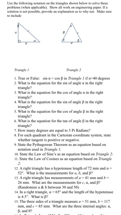 Trigonometry: Math Homework Help!!